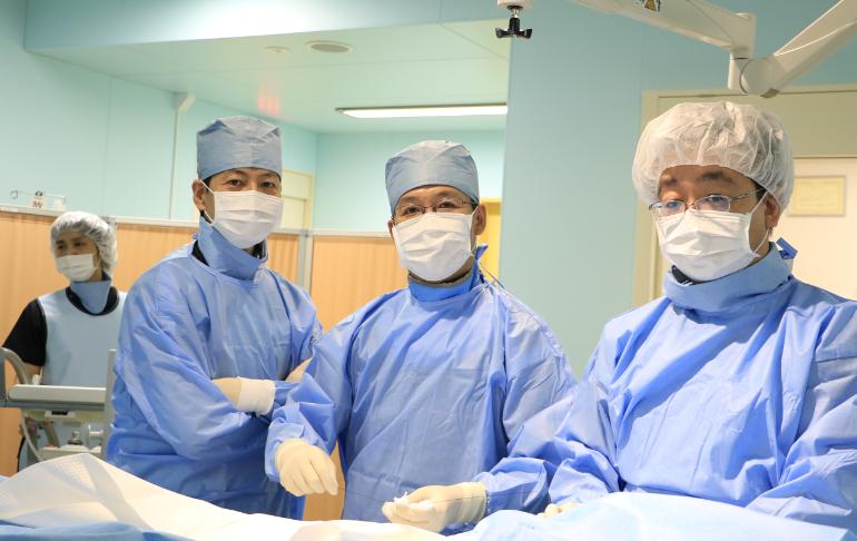 循環器内科では、心臓カテーテル治療と不整脈に対するカテーテルアブレーション治療も行っています