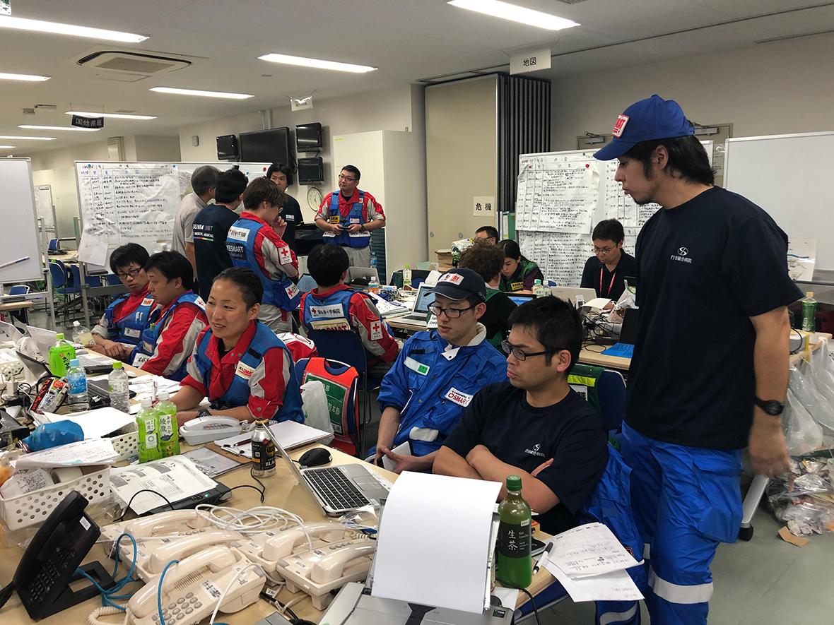 埼玉県大規模地震時医療活動訓練(2019年9月)