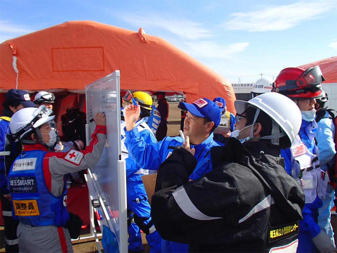 埼玉県特別機動援助隊合同訓練(2020年2月)